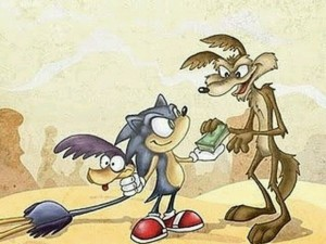 sonic-coyote-bip-bip-money